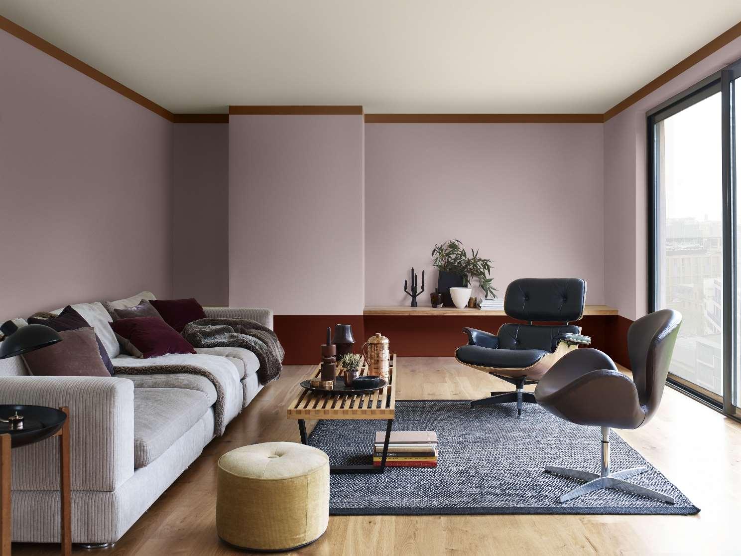 heart wood colore sikkens 2018 per le pareti soggiorno